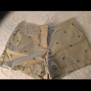J Crew Critter Shorts Size 10